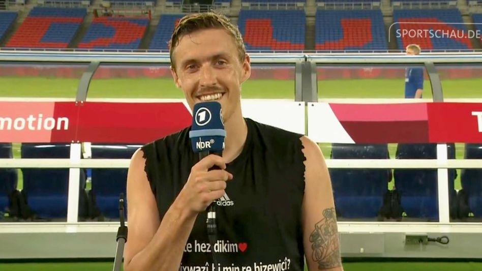 Fußballer Max Kruse im TV: »Ich liebe dich und frag dich, ob du meine Frau werden willst«
