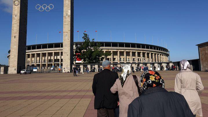 Nächster türkischer Präsident: Ein Stadion wird zum Wahllokal