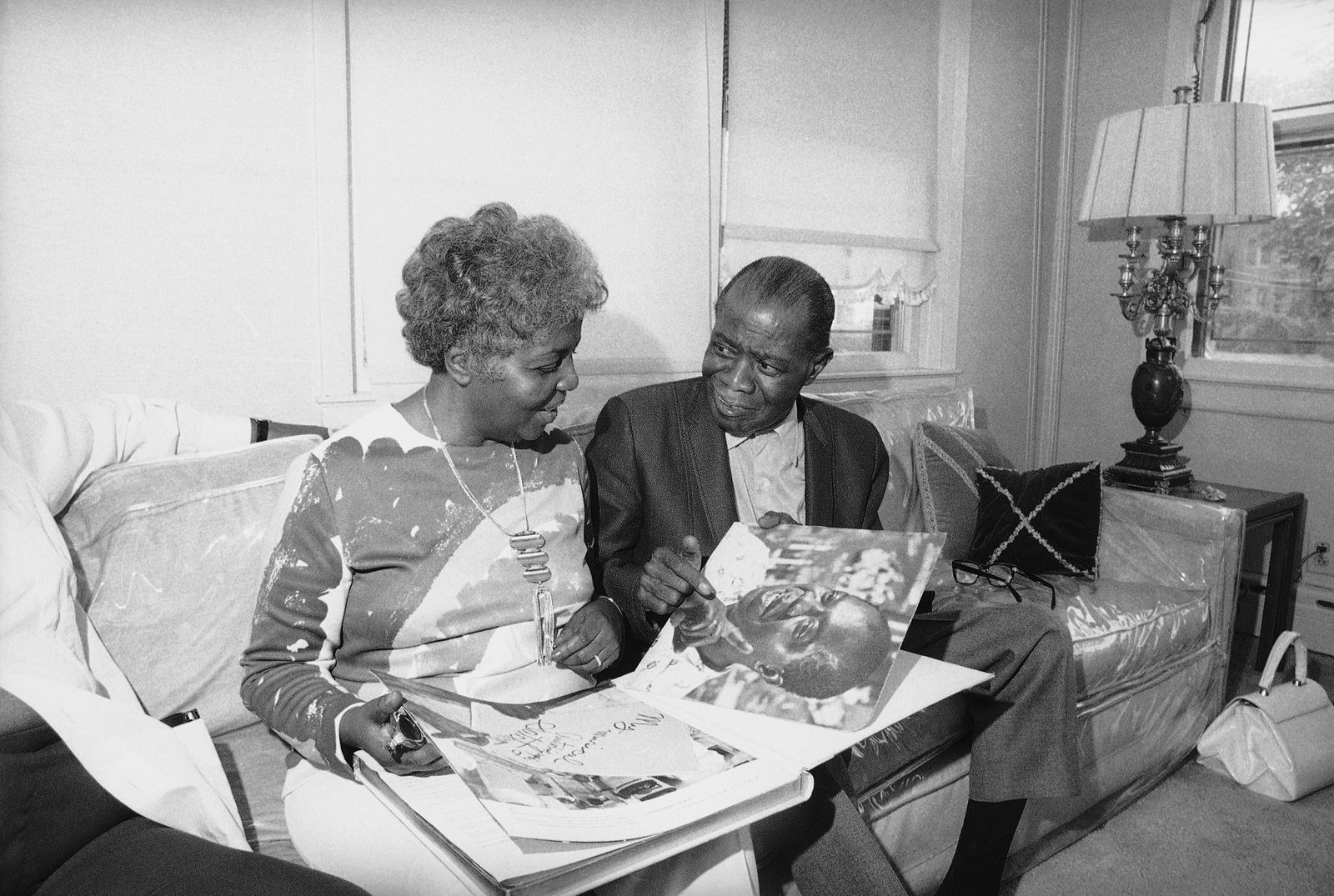 Louis Armstrong, Lucille Armstrong