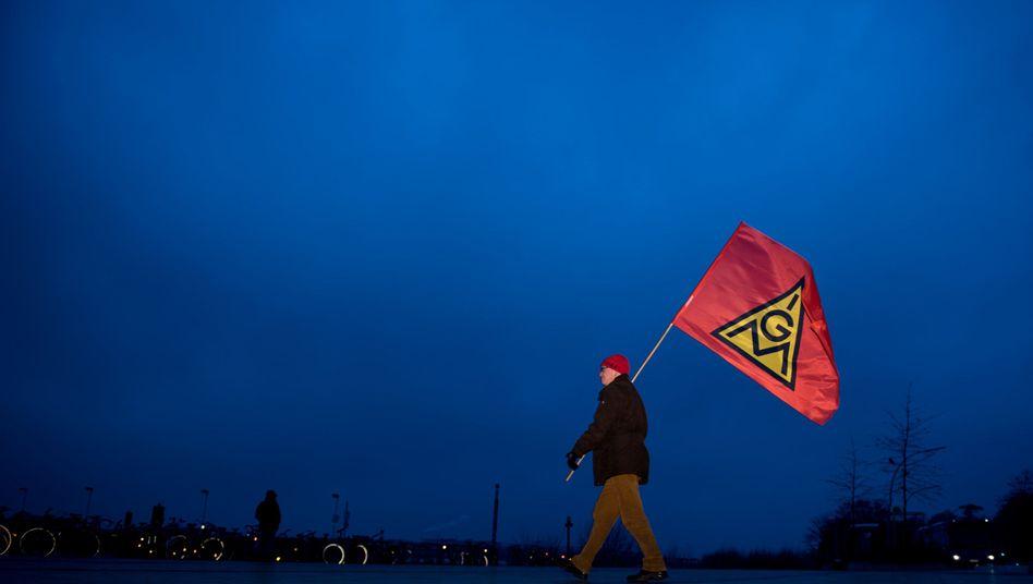 Demonstrant in Hamburg (Archiv)