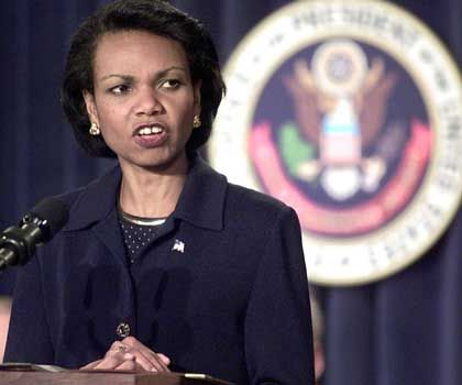 "Doktrin hat ""breiten Ansatz"": Präsidentenberaterin Rice"