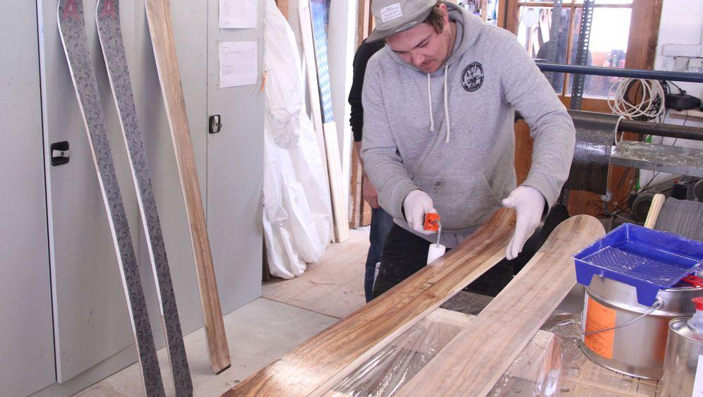 Eigenbau-Ski: Einzelstücke für die Piste