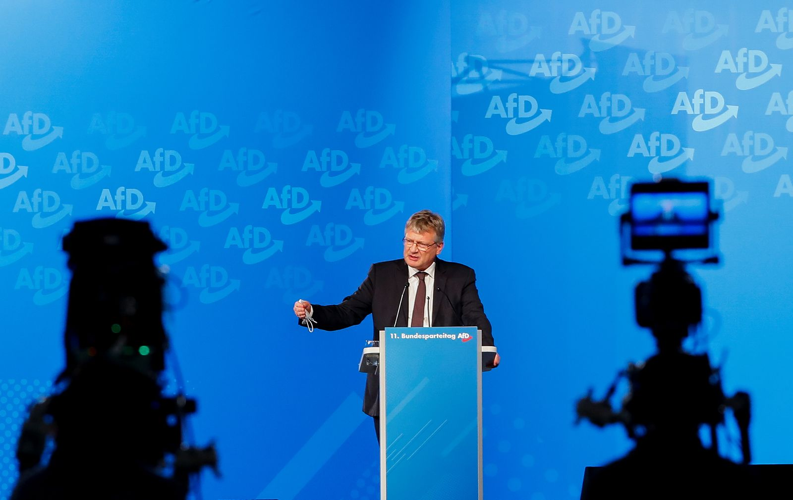 Alternative for Germany (AfD) party congress in Kalkar
