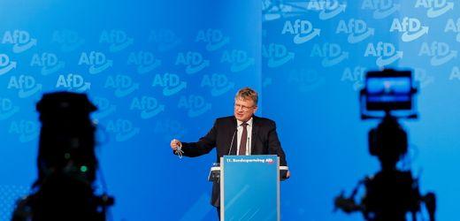 AfD und Bundesparteitag: Jörg Meuthen rechnet mit eigener Partei ab