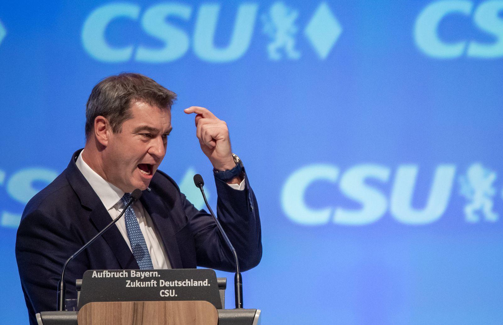CSU-Parteitag 2019 Söder