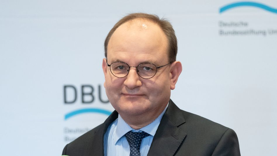 Preisträger Ottmar Edenhofer, Direktor des Potsdam-Instituts für Klimafolgenforschung