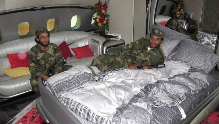 Muammar al-Gaddafi: Bruder Führers Luxusflieger