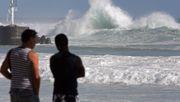 Wind und Wellen nehmen zu