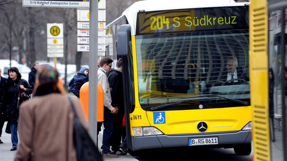 Busfahrer in Berlin (Symbolbild)