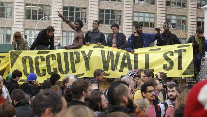 Fotostrecke: Polizei räumt Occupy Wall Street