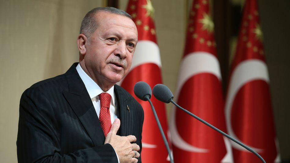 """Erdogan: """"Dieser Beschluss hat keinen Wert"""""""