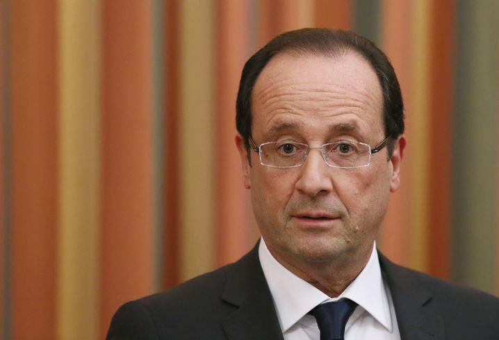"""François Hollande: """"Ich spreche mein Beileid aus und auch das meines Volkes"""""""