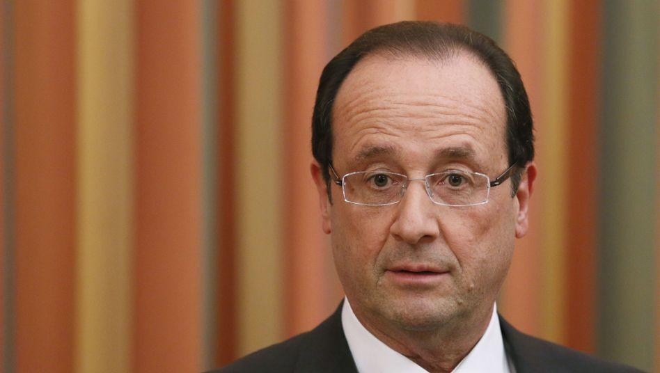 Frankreichs Staatschef François Hollande: Er hat jetzt ein A weniger