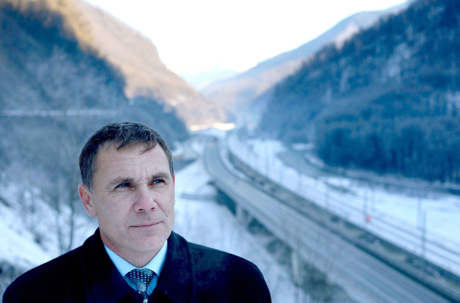 Sotschi 2014 - Umweltschützer Jewgeni Witischko