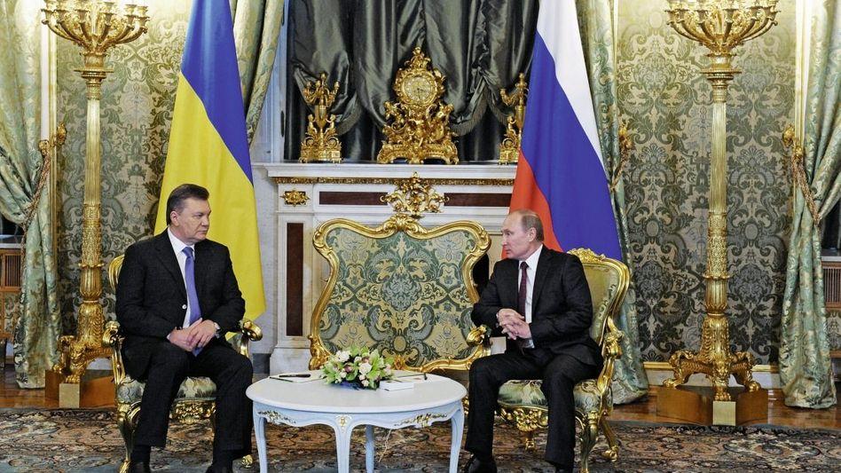 Präsidenten Janukowitsch, Putin: »Die Welle der Revolution vernichtet die russische Zivilisation«