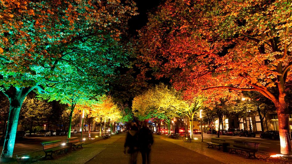 Winter in the German capital means that it gets dark earlier. Which is all the better for Berlin's annual Festival of Lights, which runs for two weeks in October.