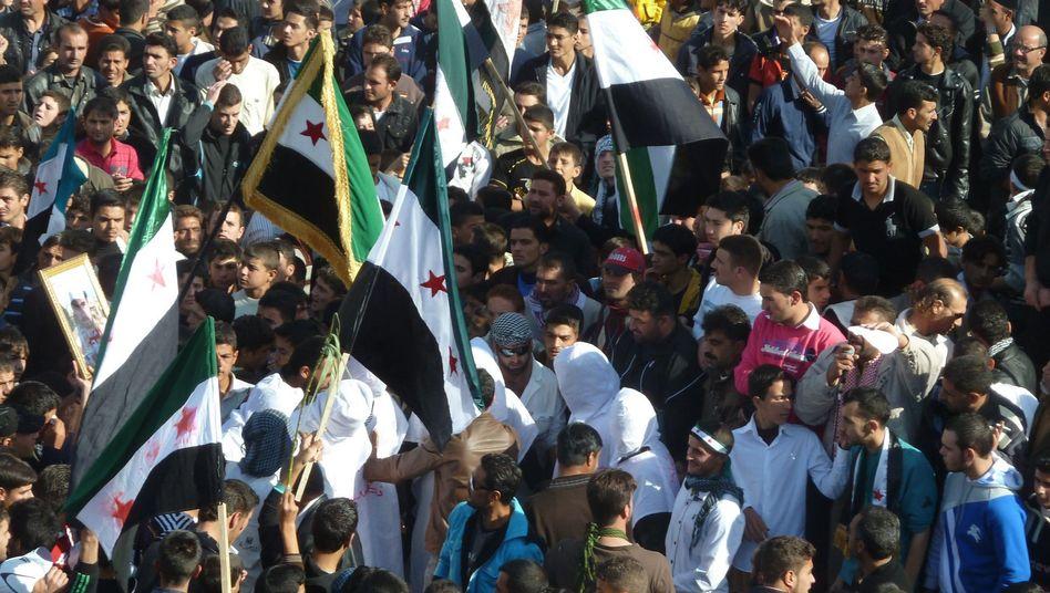 """Anti-Assad Proteste: """"Die Menschen in Syrien haben keine Geduld mehr"""""""