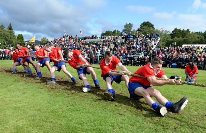 Highland Games in Braemar