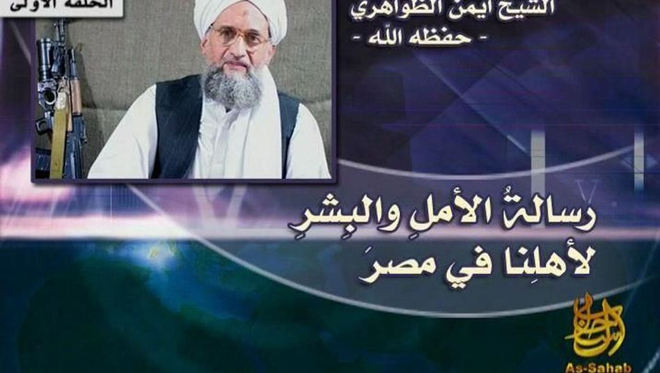 """Pictured here is al-Qaida No. 2 Ayman al-Zawahiri. Another al-Qaida leader said: """"It is true the revolution is not entirely what we had envisioned."""""""