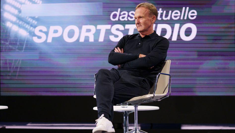 """Hans-Joachim Watzke im """"Aktuellen Sportstudio"""""""