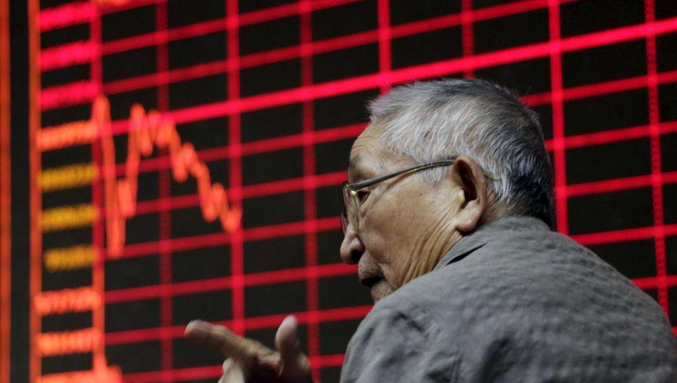 Investor in Peking: Suche nach den Gründen für den Absturz