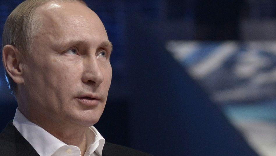 Russlands Präsident Putin: Scharfe Kritik am Westen