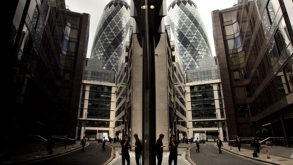 Irgendwo in London: Dort soll der Goldpreis manipuliert worden sein