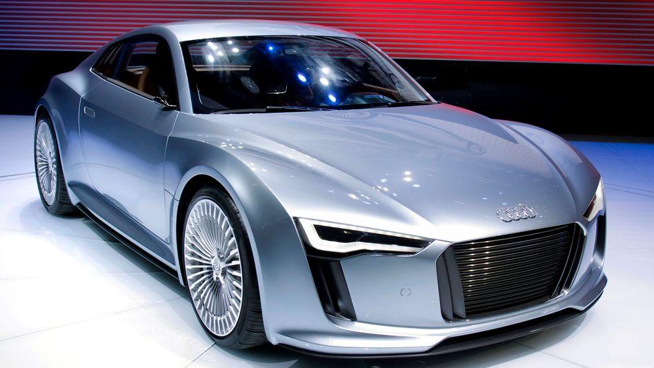 Audi E-Tron: Ja, es ist ein Elektroauto!
