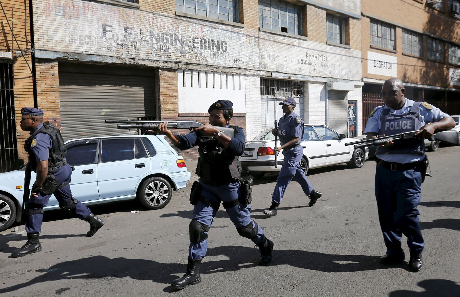 südafrika polizei