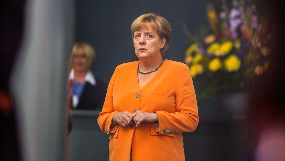 Kanzlerin und CDU-Chefin Merkel: Syrien-Konflikt überschattet Wahlkampf