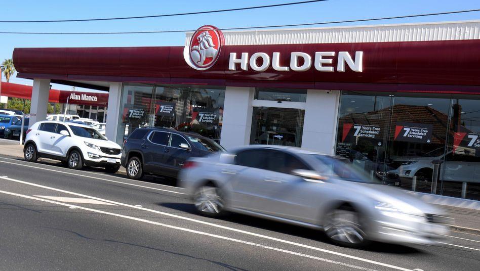 Holden-Händler in Melbourne