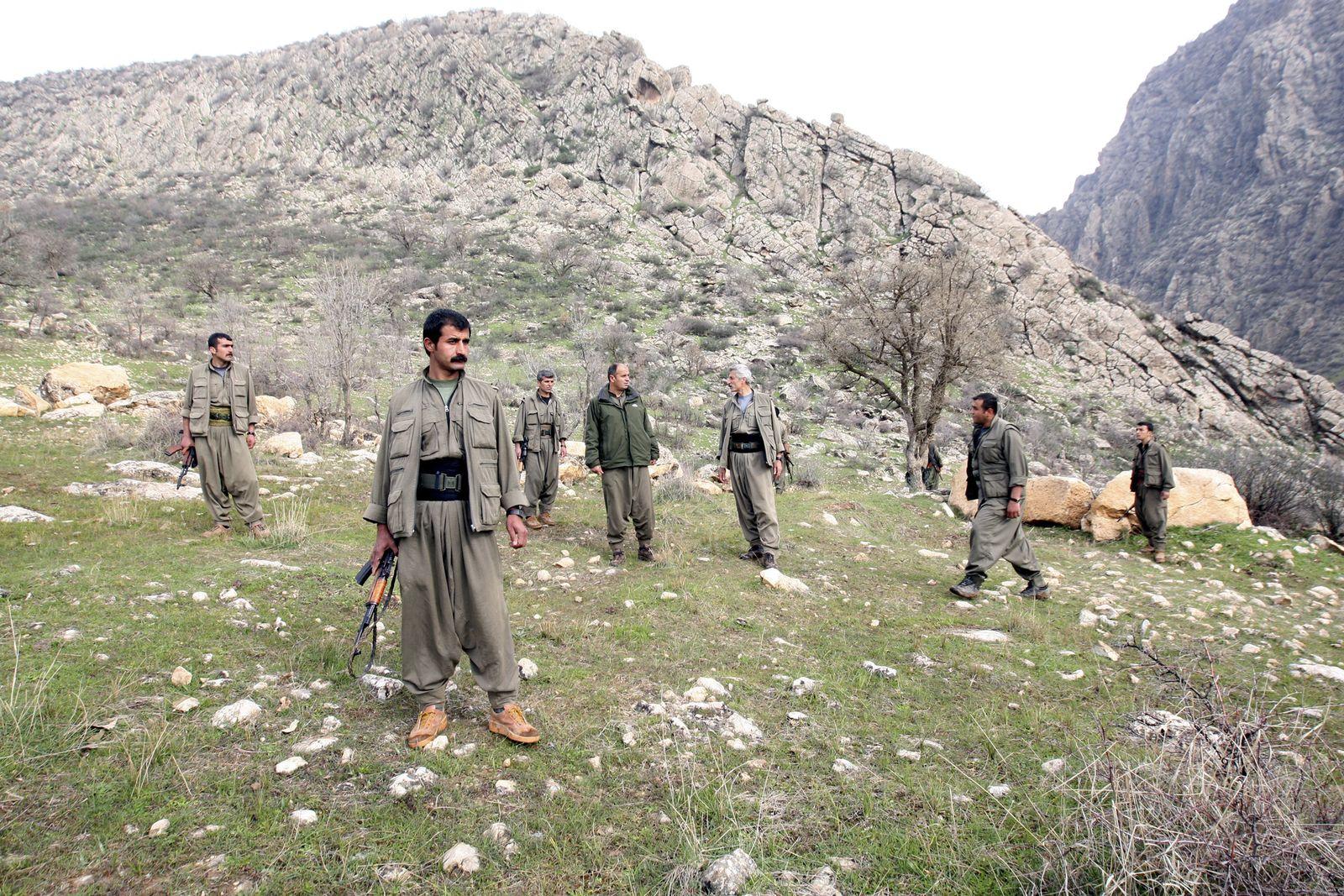 Irak/ PKK/ Kämpfer