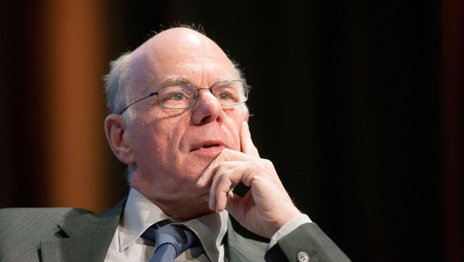 Bundestagspräsident Norbert Lammert (CDU): Umstrittene Doktorarbeit