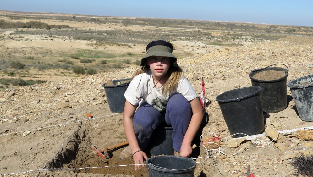 Archäologe: Müllproblem in Elusa
