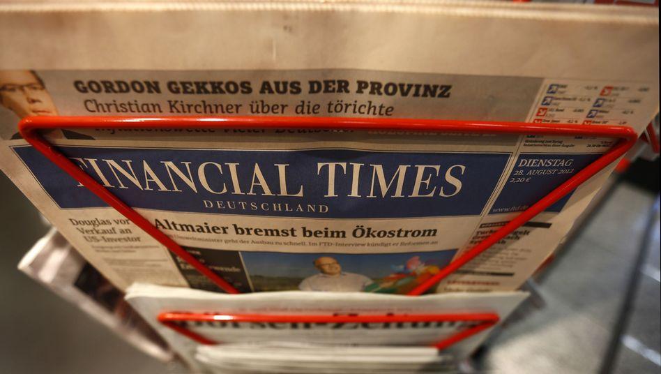 """""""Financial Times Deutschland"""": Aus nach knapp 13 Jahren"""