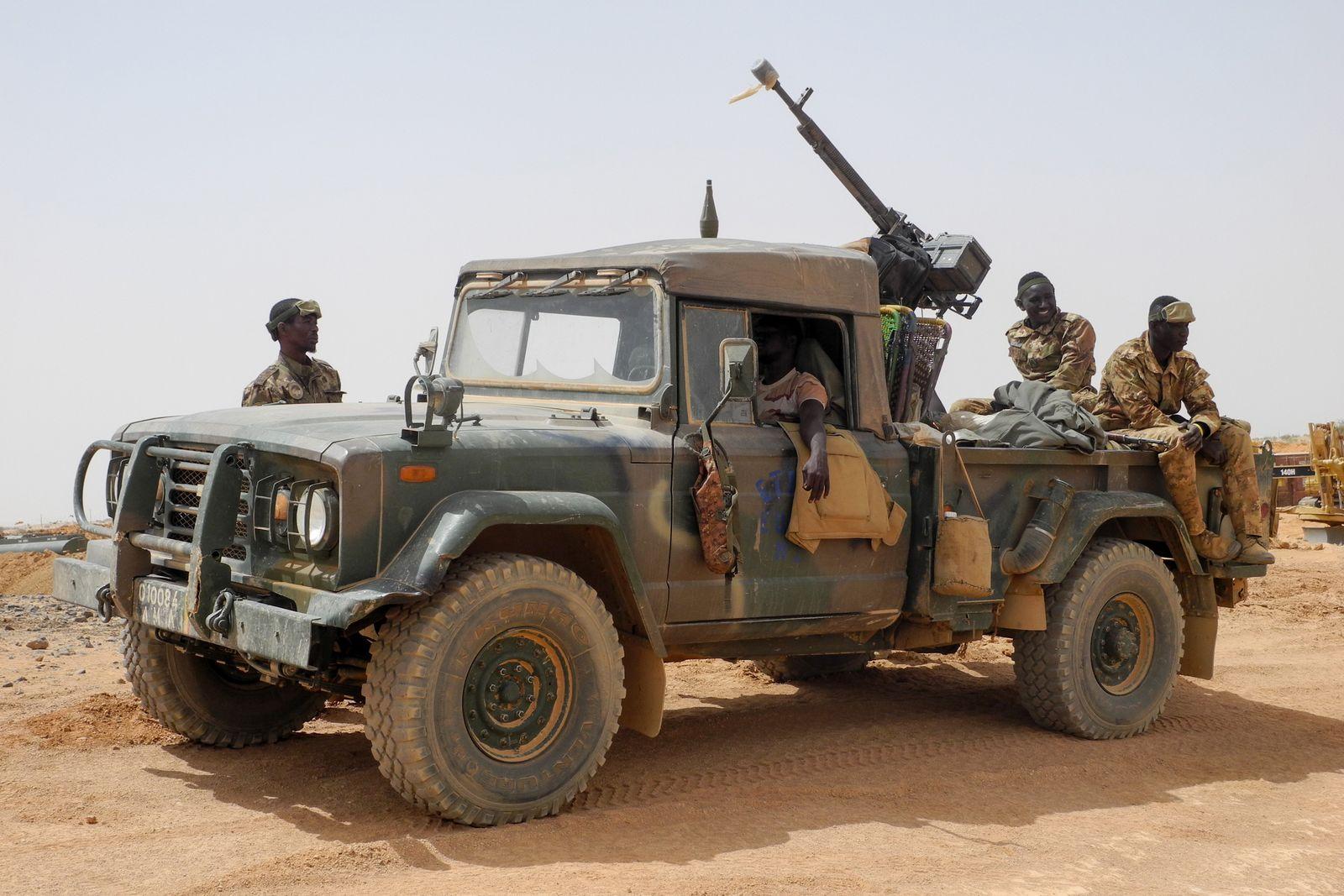 Mali/ Menaka/ Konflikt