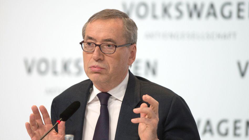 VW-Manager Neumann: Kritik von Arbeitnehmerseite