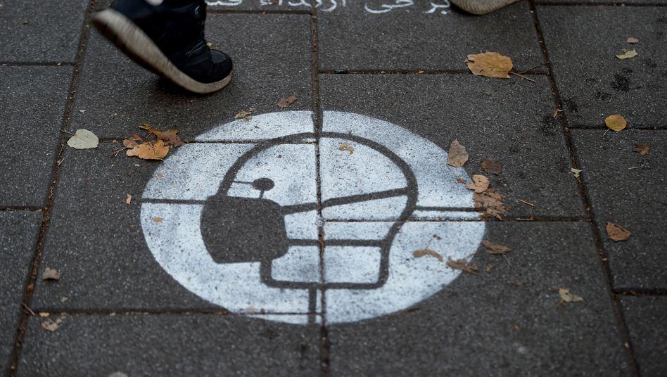 In vielen Innenstädten Deutschlands gilt seit Beginn des Teil-Lockdowns eine Maskenpflicht