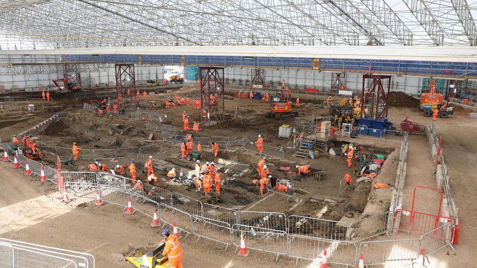 Ausgrabungen in London