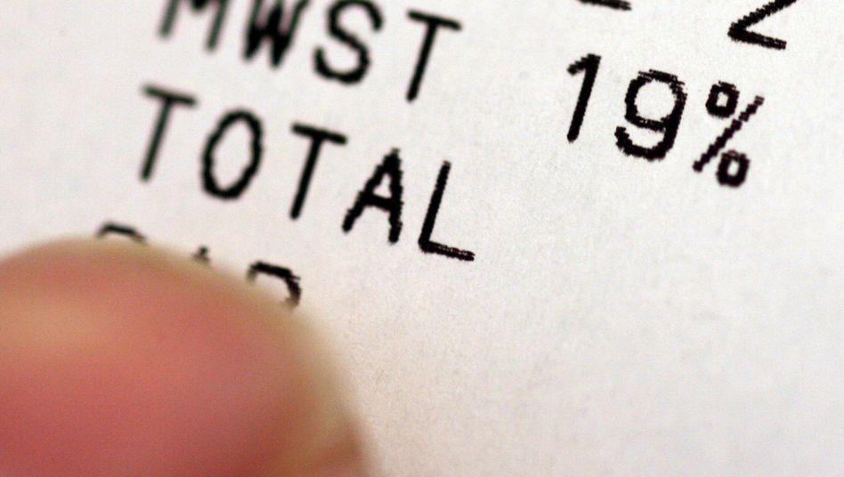 Kassenzettel mit Mehrwertsteuer-Ausweisung: Was bringt die vorübergehende Senkung?