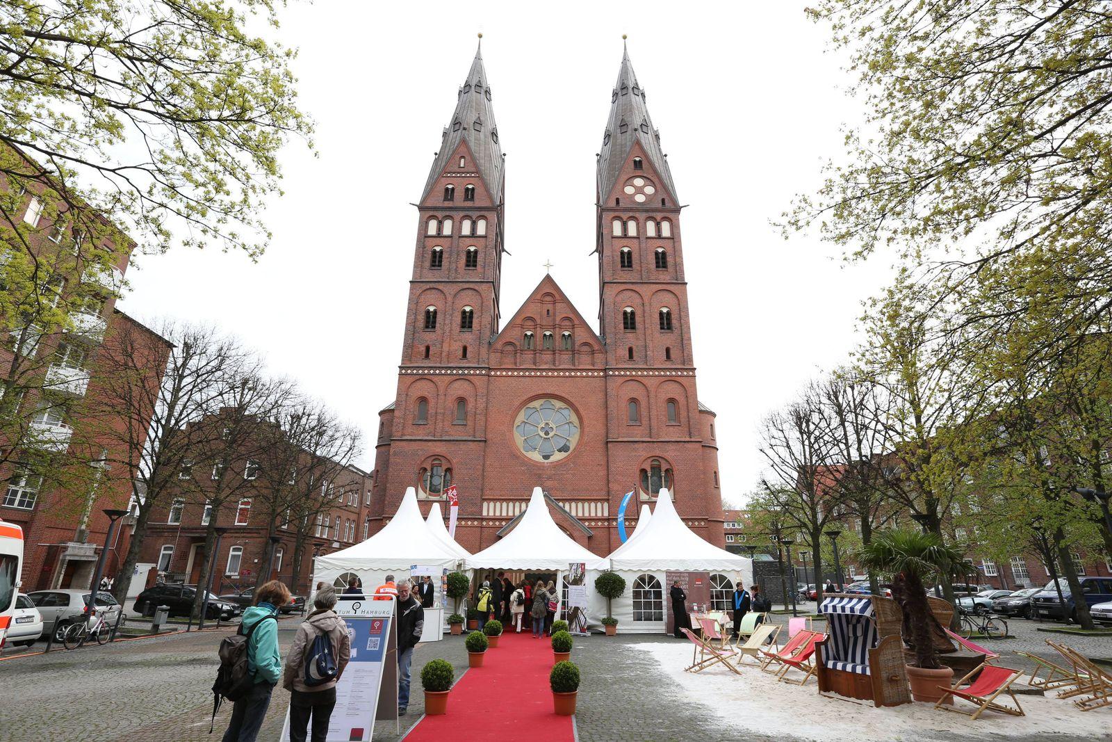 EINMALIGE VERWENDUNG Mariendom / Erzbistums Hamburg