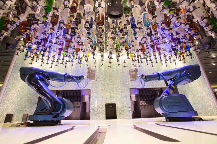 "Bionic Bar auf der ""Quantum of the Seas"": Ersetzt Barkeeper"