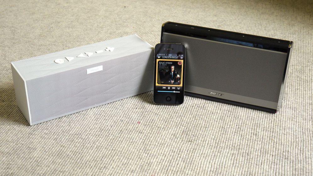 Bluetooth-Aktivboxen: Jawbone Big Jambox und Bose Soundlink Wireless