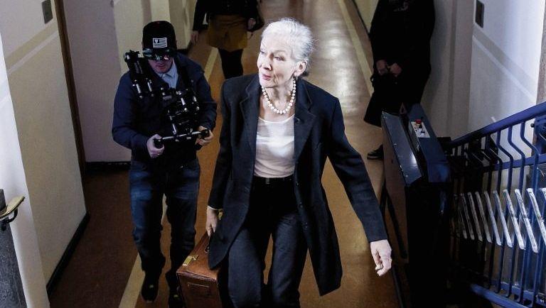 Angeklagte Anna R. im Dortmunder Landgericht