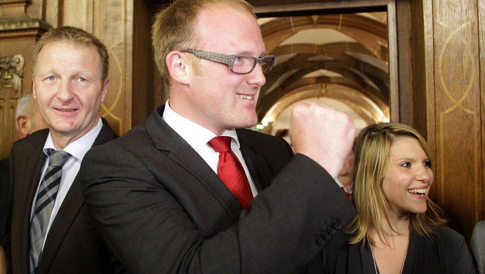 Duisburger OB-Wahl: SPD-Kandidat Sören Link liegt vorn