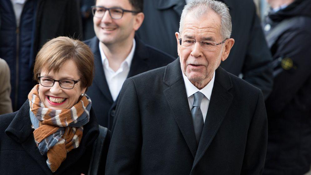 Bundespräsidentenwahl in Österreich: Die Bilder vom Wahltag