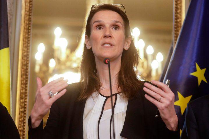 Bislang vermittelt sie den Eindruck, als wisse sie, was sie tut: Belgiens Premierministerin Sophie Wilmès