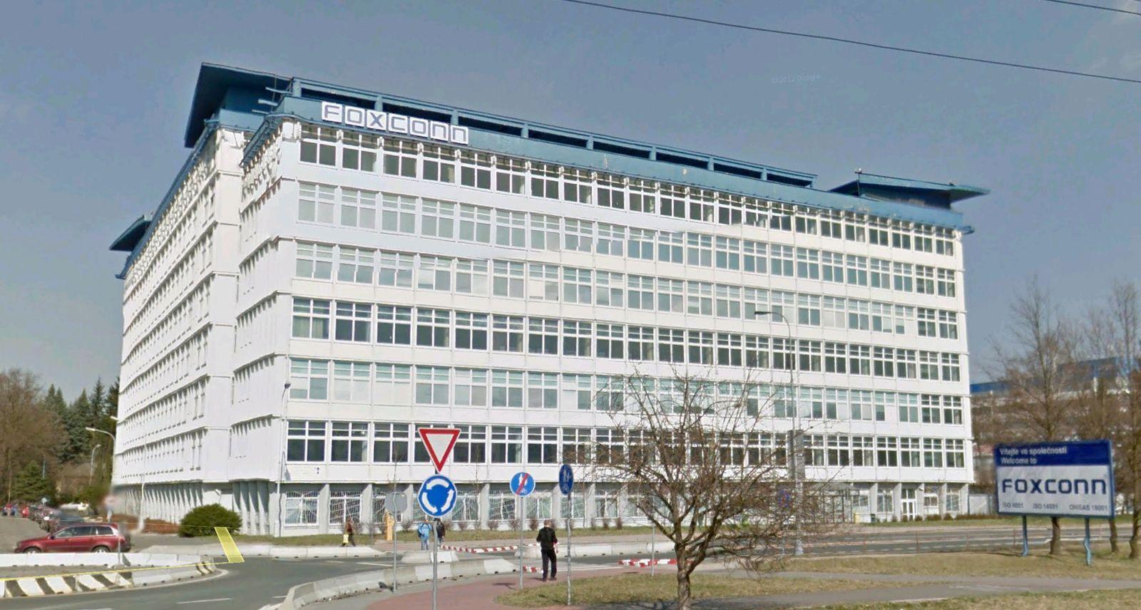 EINMALIGE VERWENDUNG Street View/ Foxconn/ Tschechien/ Pardubice