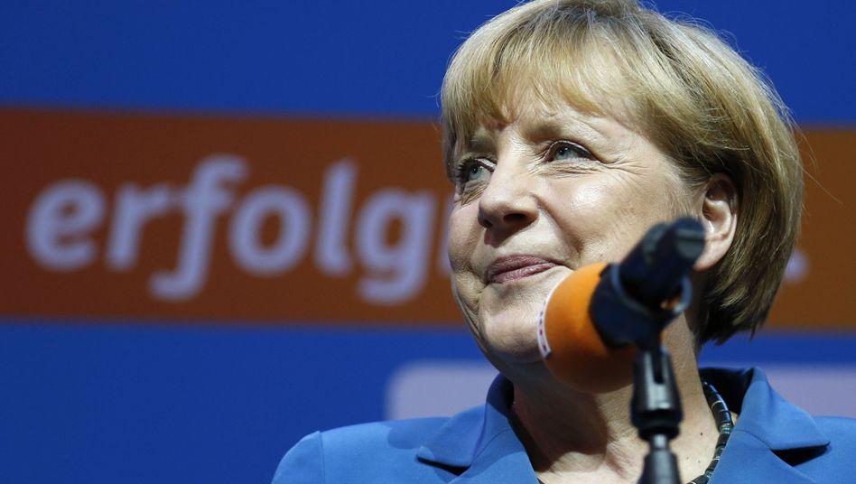 """Kanzlerin Merkel: """"Eine Bestätigung ihres Politikstils"""""""