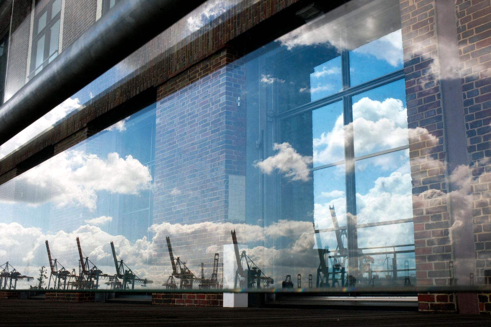 Hamburg Hafen General view of the port in Hamburg, Germany on June 12, 2021.